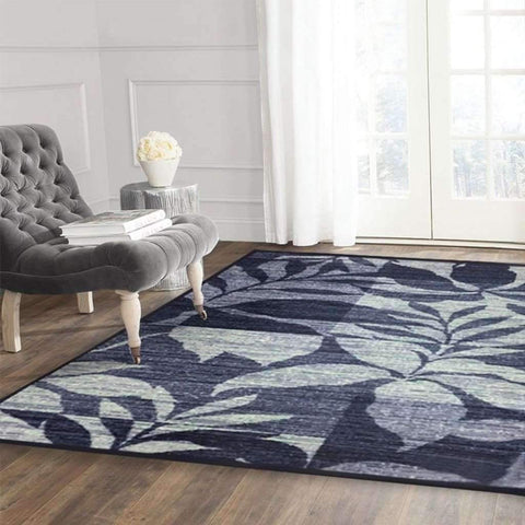 Adrien Lewis - Renfrew Distressed Carpet, Blue