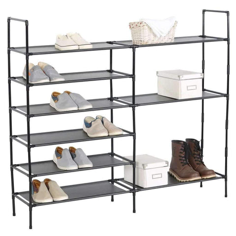 Studio 707 - DIY Multi-Purpose Shoe Rack, Black