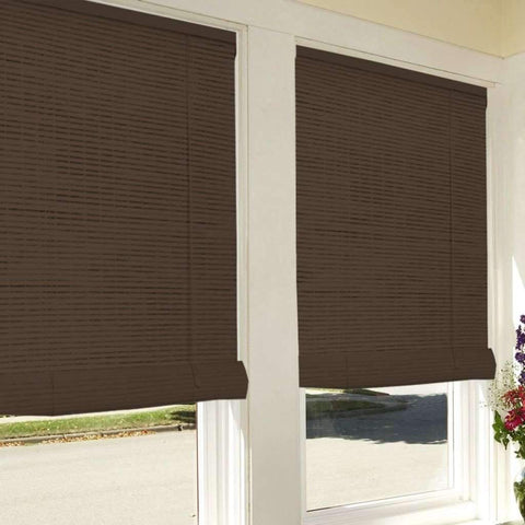 Studio 707 - Bamboo Look Roll-Up Blinds 60x72
