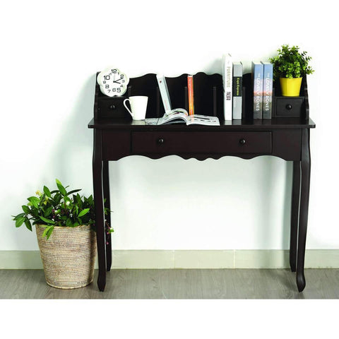 Secretary Desk White 100x33x98