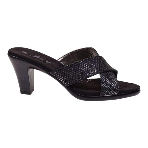 Ladies Slip On Sandals With Heel