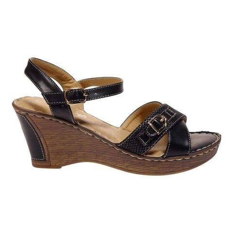 Ladies Sandals Ankle Strap