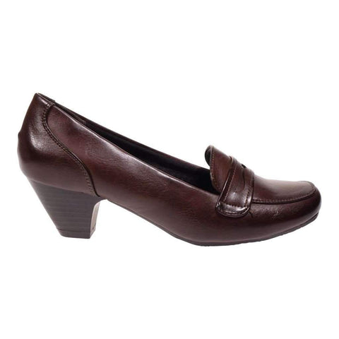 Ladies Shoes Plain Pump With Heel