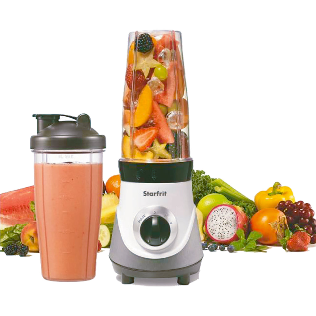 Starfrit Personal Blender W/2 Jars 300w 4 Speeds