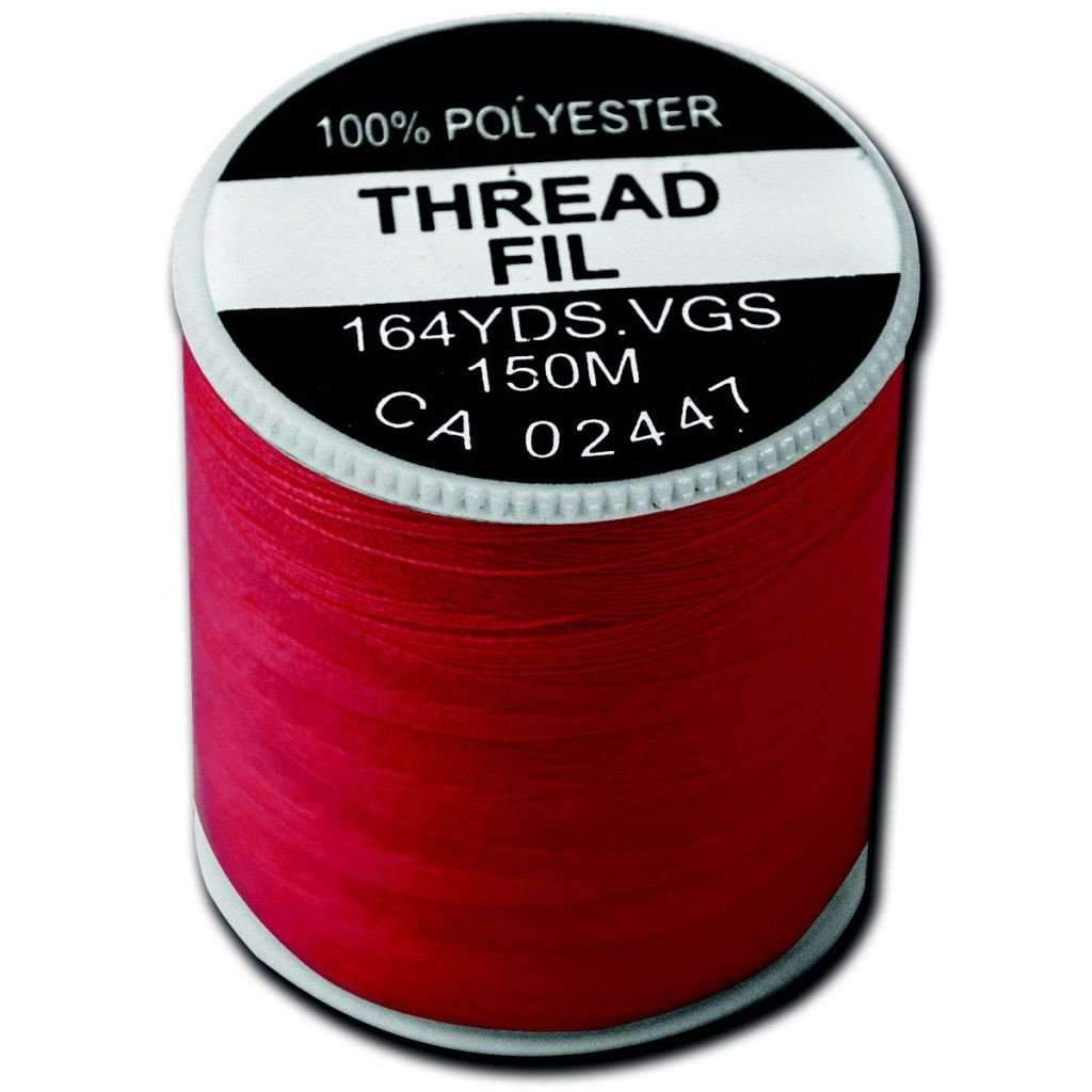 Red Thread Polyester 150 Metre