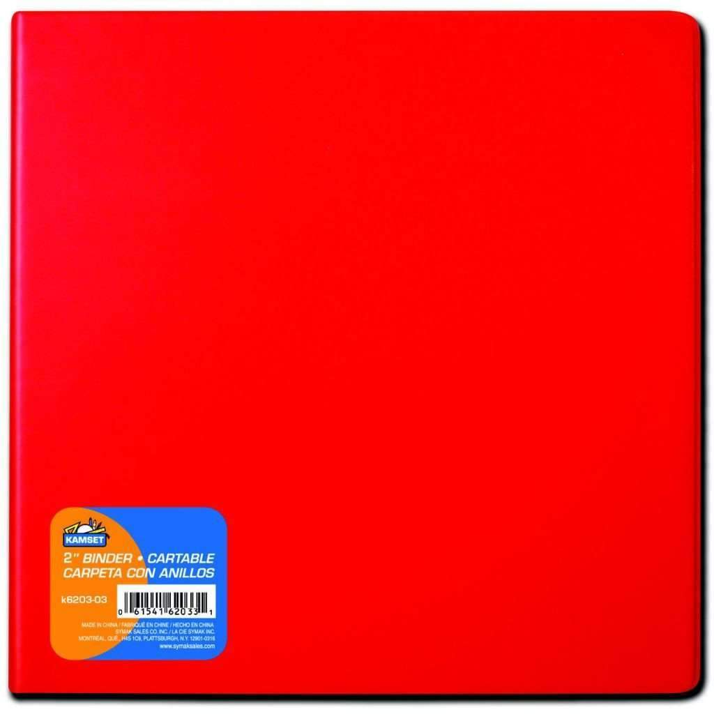 2inches Binder - Red