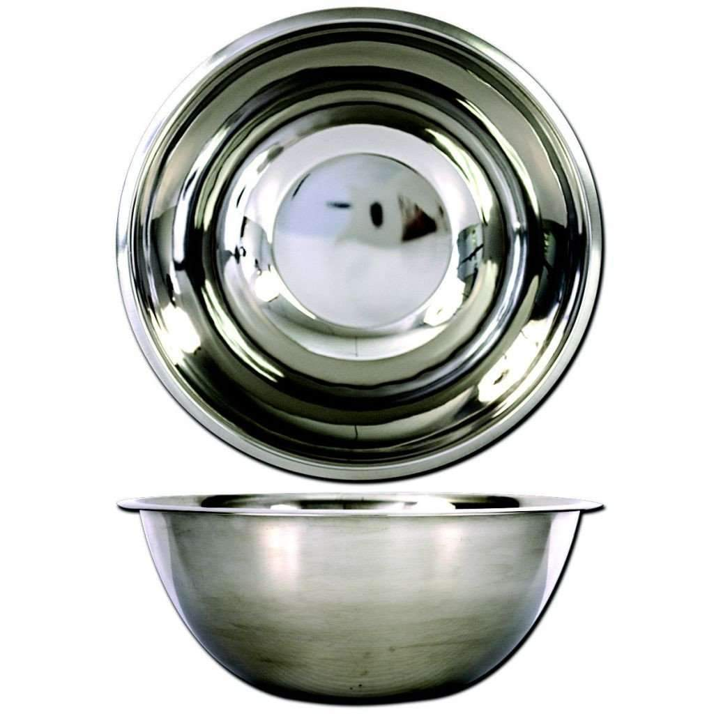 Deep Mixing Bowl 34cm Stainless