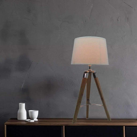 Table Lamp - White BL