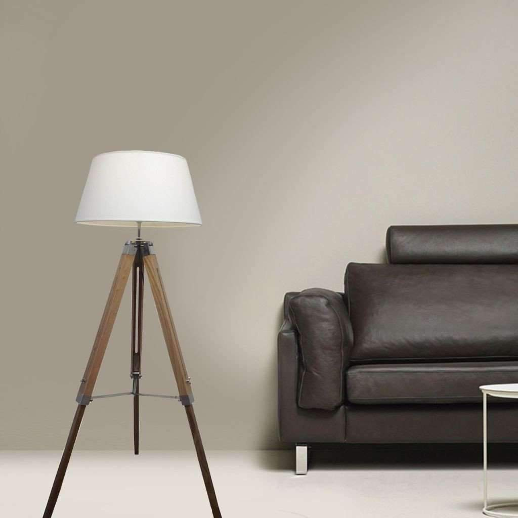 Floor Lamp - White BN