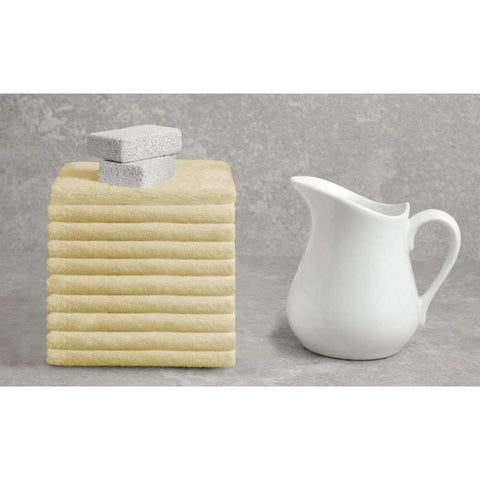 Deluxe Cotton Towel - Custard