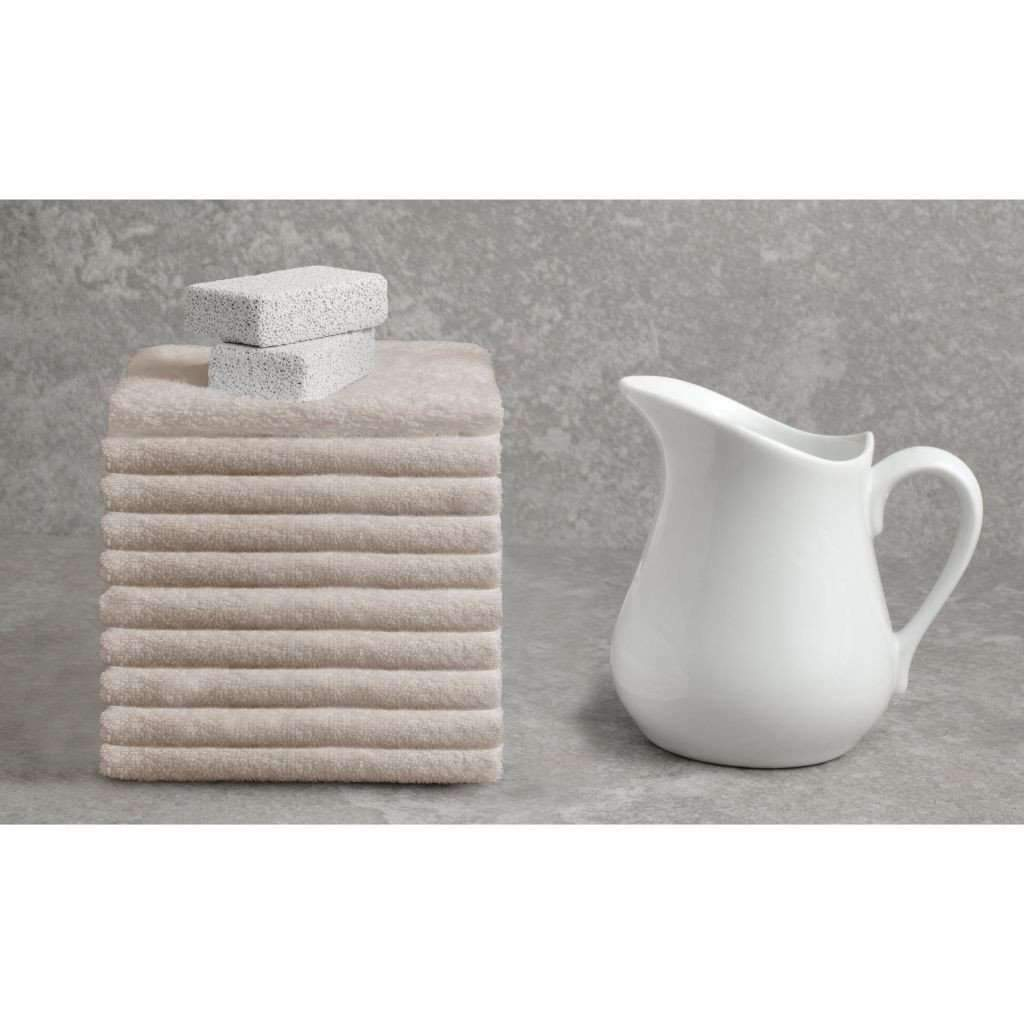 Deluxe Cotton Towel - Light Taupe