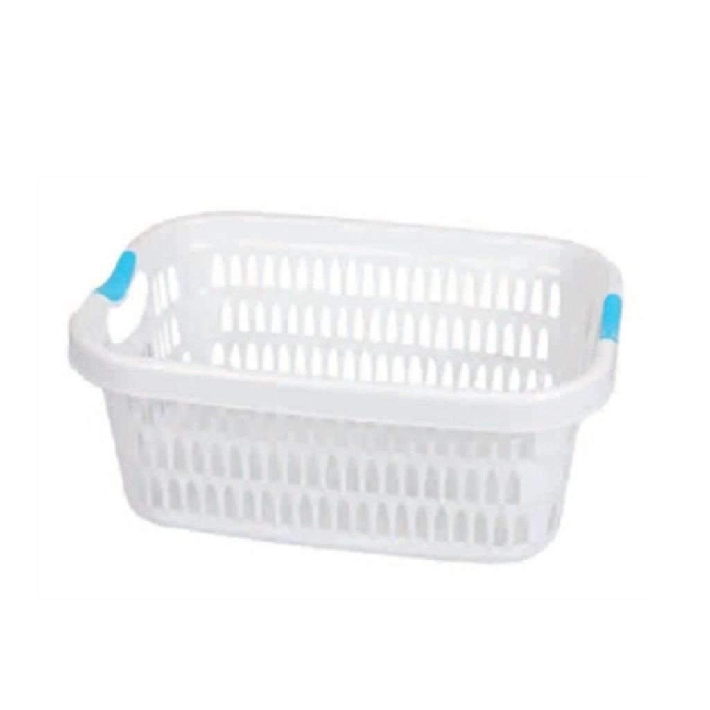 Laundry Basket - White