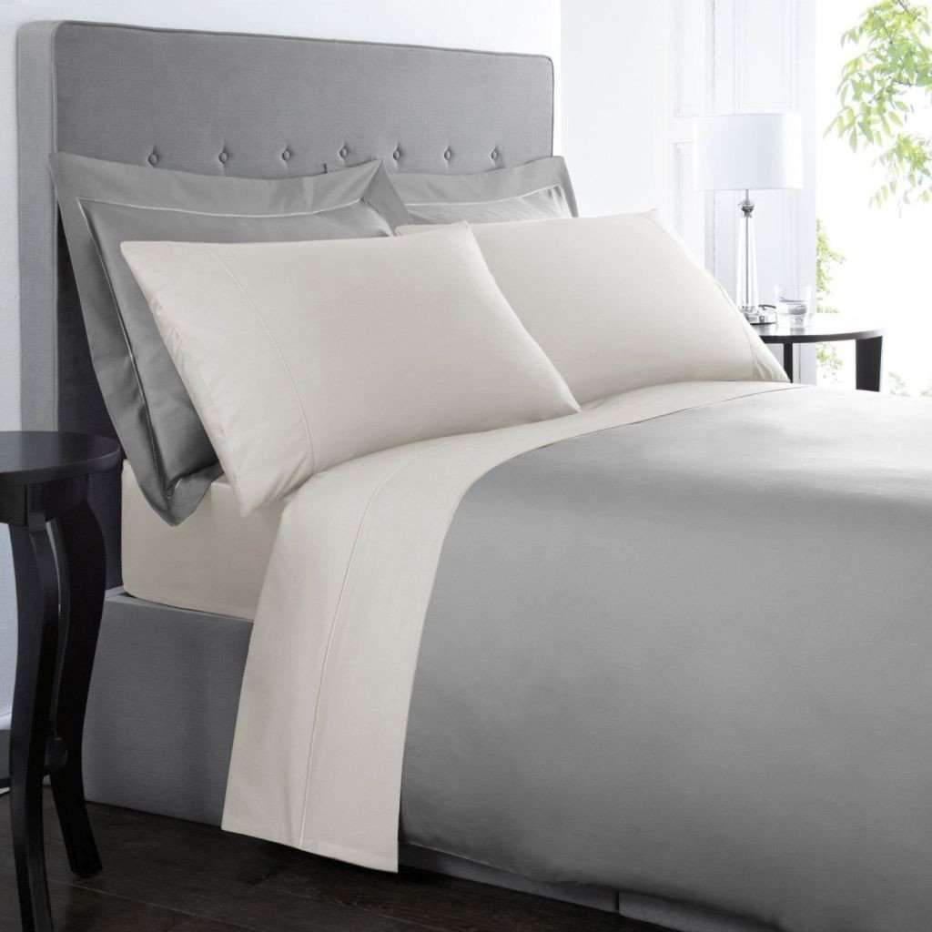 1000 Thread Count Cotton Rich Sheet Set - Ivory