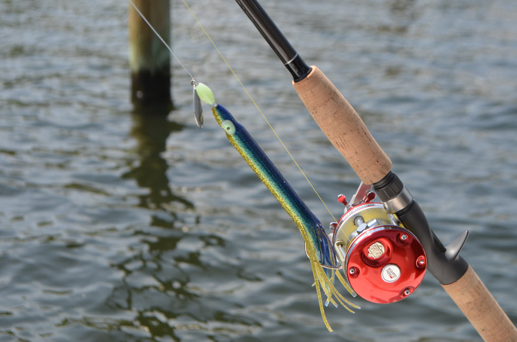 "LIMITED EDITION - Yellowfin 8"" Fluke Rig"