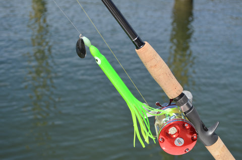 "LIMITED EDITION - Lime 8"" Fluke Rig"