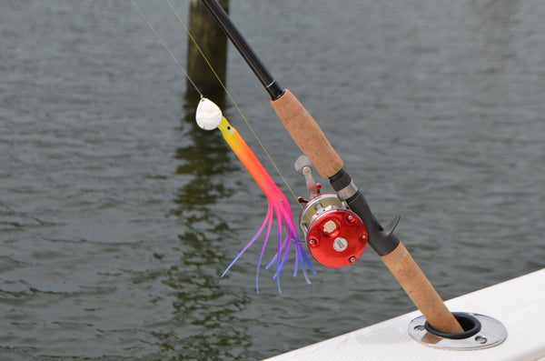 "LIMITED EDITION - Rainbow 8"" Fluke Rig"