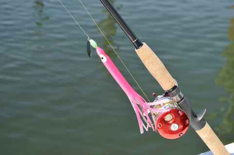 "LIMITED EDITION - Pink Glow 8"" Fluke Rig"