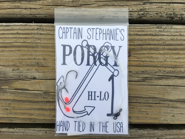 Captain Stephanie's Porgy Rigs