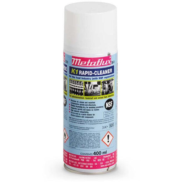 Metaflux 75-11 Metaflux K1-Rapid Cleaner Spray NSF