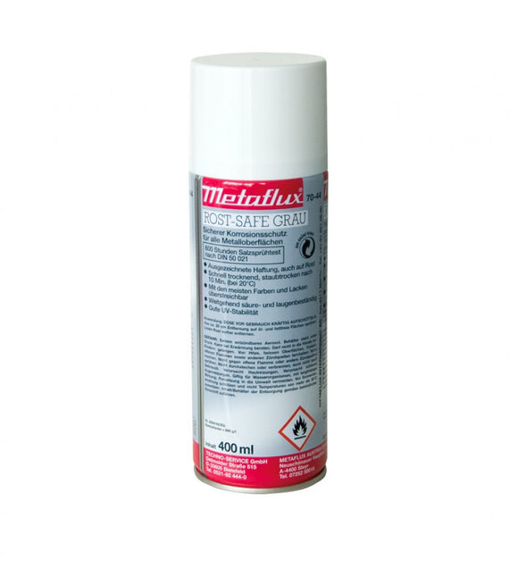 METAFLUX® 70-44 - 600 hour salt spray tested - Rust safe spray: Grey
