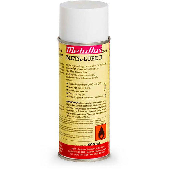 Metaflux 70-76 META-LUBE II Clear Grease Spray