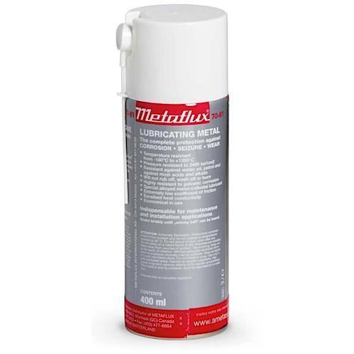 Metaflux 70-81 Lubricating Titanium Metal Spray, the ultimate anti-seize agent