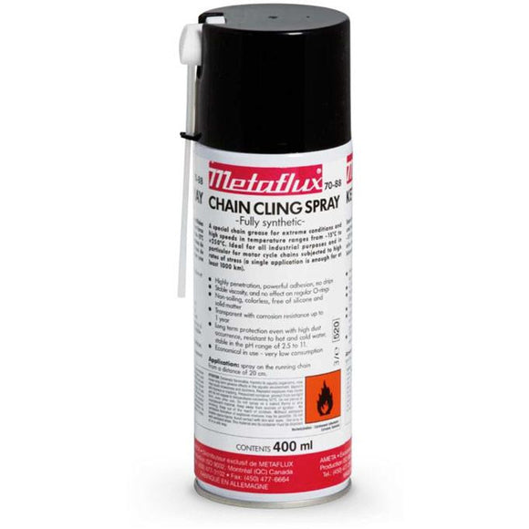 Metaflux 70-88 Synthetic Chain Cling Spray
