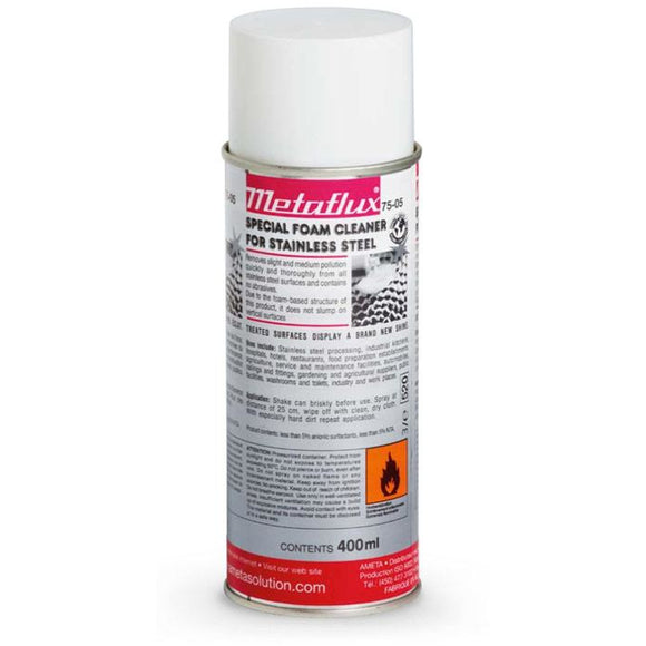 Metaflux 75-05 Stainless Steel Foam Cleaner