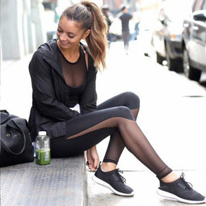 BREATHE Mesh Panel Leggings