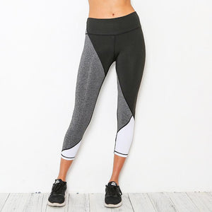 CONTRAST Stitch Panel Leggings
