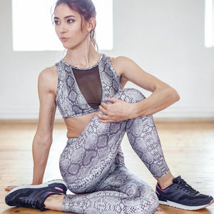 COBRA Mesh Panel Top and High Rise Leggings