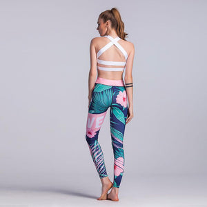 MAGNOLIA Floral Pattern Leggings