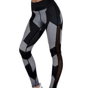 PRO COMPRESSION Patchwork Leggings