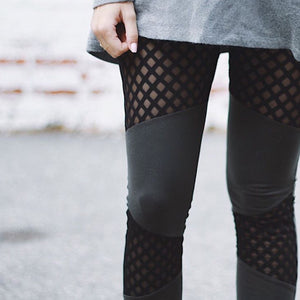 NETTY Mesh Panel Leggings