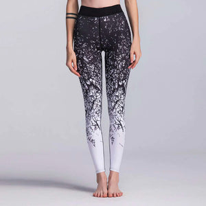 GRADIENT Bold Print High Rise Leggings