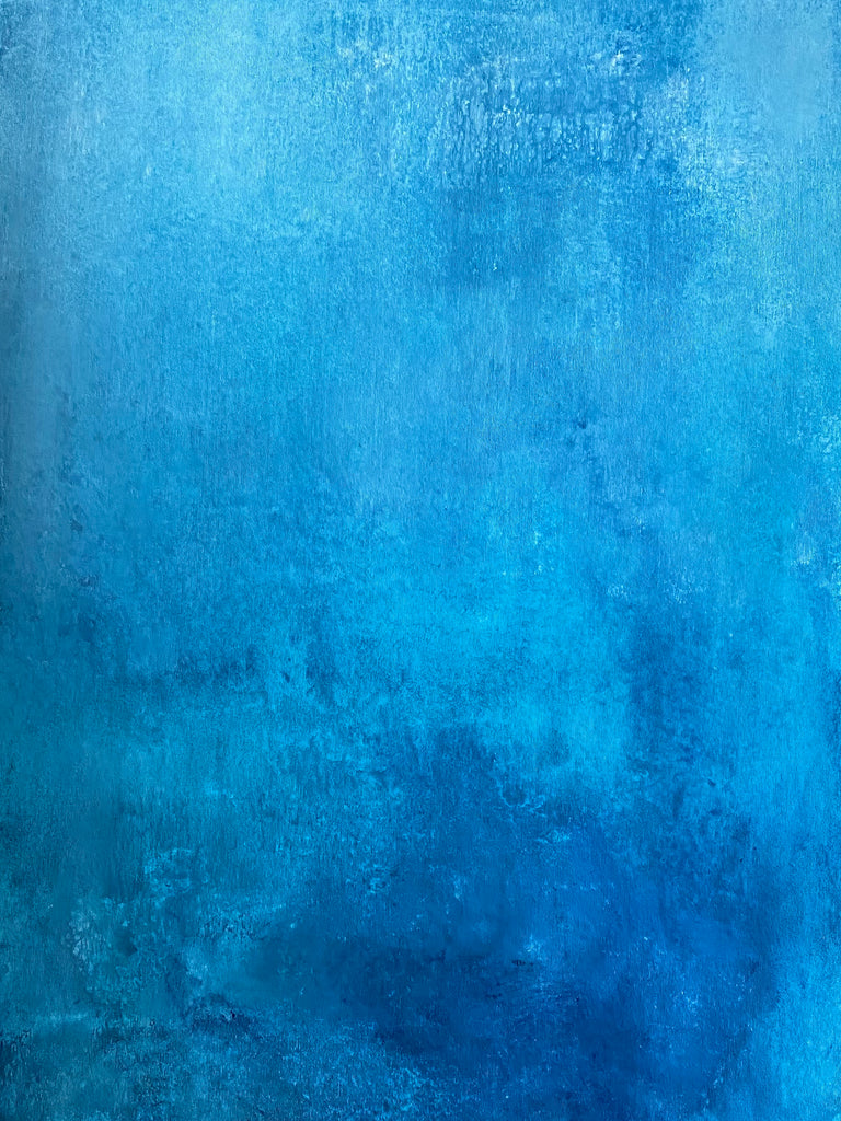 Blue canvas - 100x65 cm
