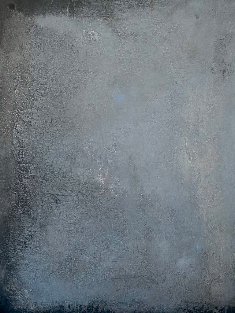 Gray and white wall  140x100 cm.
