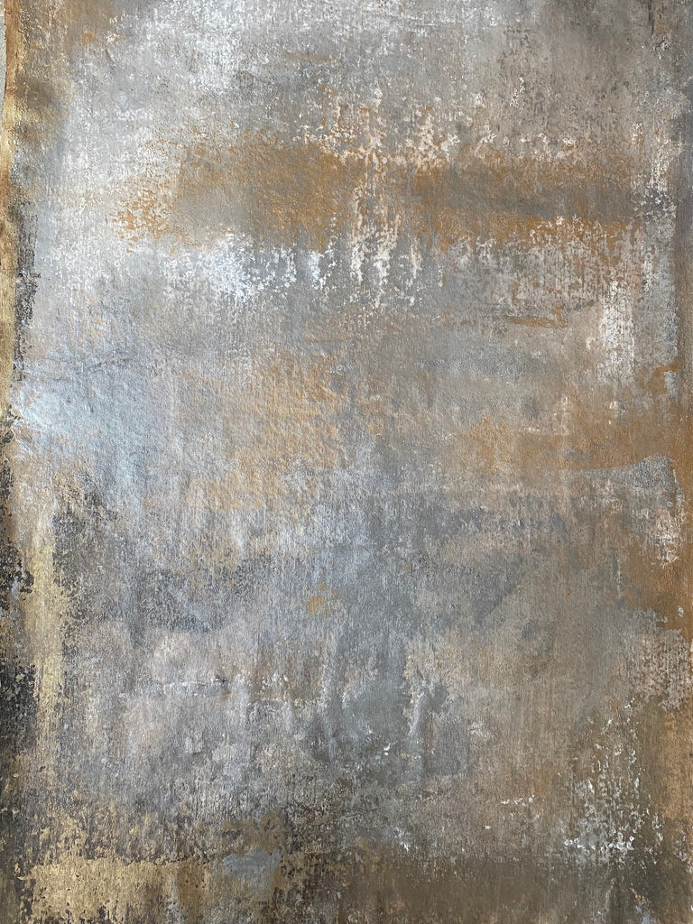 Gold and silver background - 105x73 cm