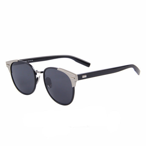 Retro Rivet Polarized Sunglasses - UV400