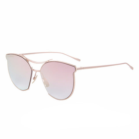 Women's Rimless Cat Eye Sunglasses - UV400