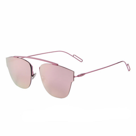 Women's Aviator Mirror Sunglasses - UV400