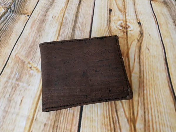 Men's Bifold Wallet in Cork