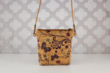 Lighten the Load Cork Bag in Butterflies