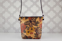 Lighten the Load Cork Bag in Butterflies & Flowers