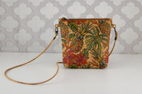 Lighten the Load Cork Bag in Vintage Pineapples