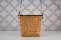 Lighten the Load Cork Bag in Gold Flecks