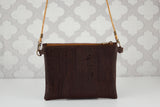 Zippy Cork Bag in Forest Hues