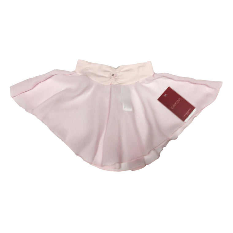 Pink Pull On Skirt