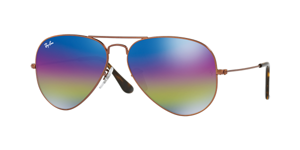 17432799f1fd87 ... official store ray ban aviator mineral flash lens sunglasses additional  color options 05976 a38bf ...