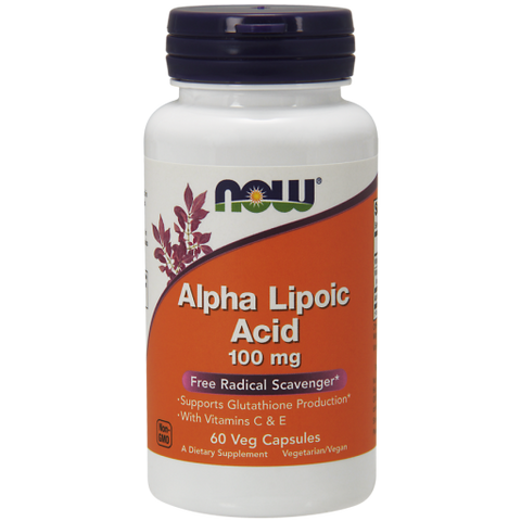 Alpha Lipoic Acid: 100 mg